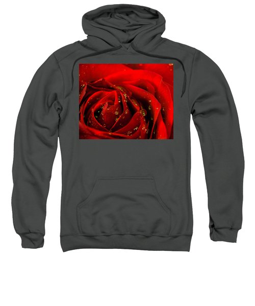Red Rose 2 Sweatshirt