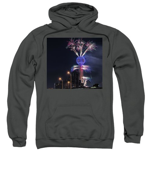 Reunion Tower Fireworks Sweatshirt
