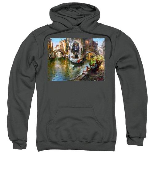 Romance In Venice Sweatshirt