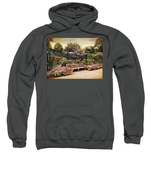 Rose Garden Trellis Sweatshirt