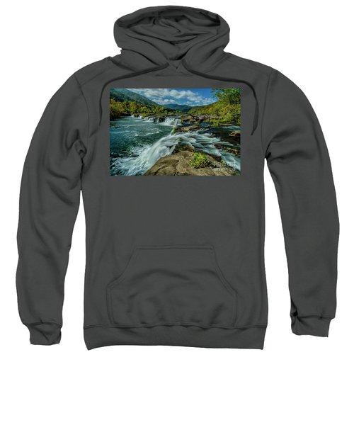 Sandstone Falls New River Sweatshirt
