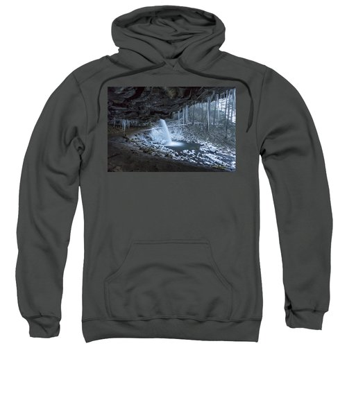 Sheltered From The Blizzard Signed Sweatshirt