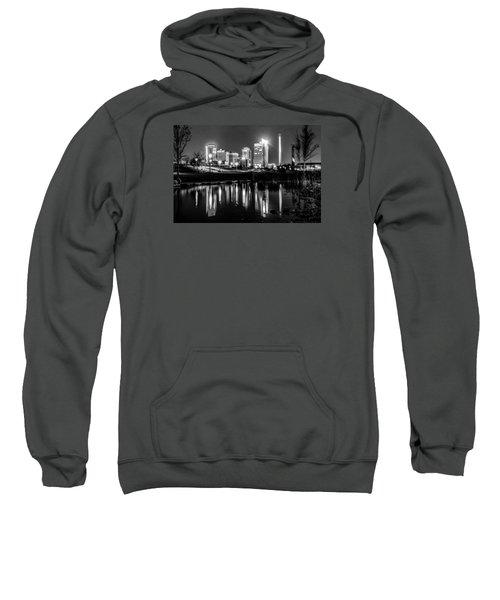 Skyline Of Birmingham Alabama From Railroad Park Sweatshirt