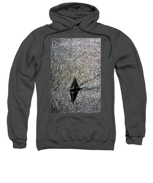 Sailing Into Solitude Sweatshirt