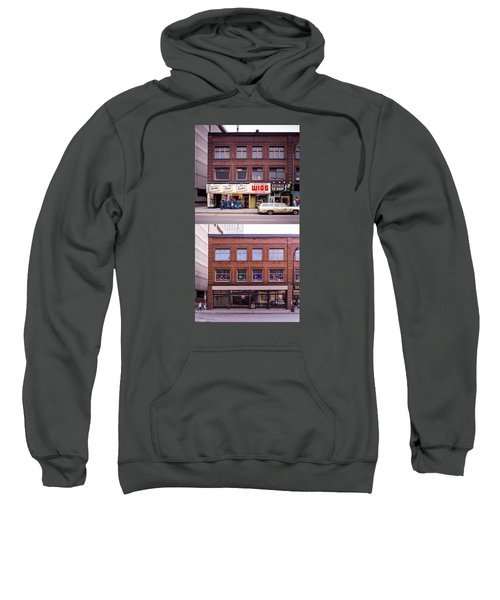 Something's Going On At The Greeting Card Center. Sweatshirt