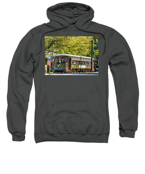 St. Charles Ave. Streetcar 2 Sweatshirt