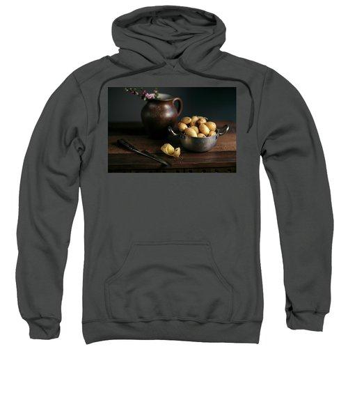 Still Life With Potatoes Sweatshirt
