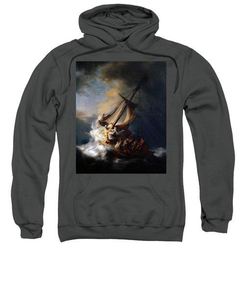 Storm On The Sea Of Galilee Sweatshirt