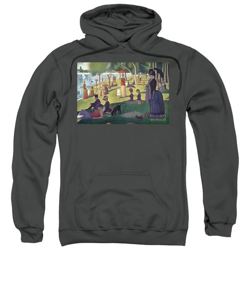 Sunday Afternoon On The Island Of La Grande Jatte Sweatshirt