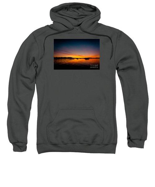 Sunrise Above Lake Water Summer Time Sweatshirt