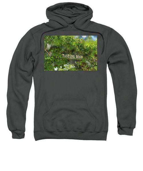 Tasting Room Sign Sweatshirt
