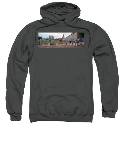 Temporary Memorial For 1995 Oklahoma Sweatshirt