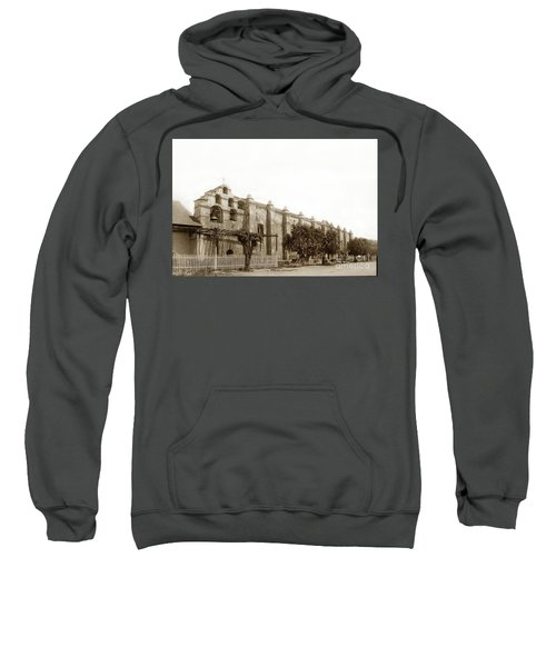 The Campanario, Or Bell Tower Of San Gabriel Mission Circa 1890 Sweatshirt