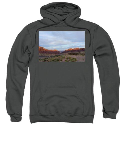 The Castles Near Green River Utah Sweatshirt