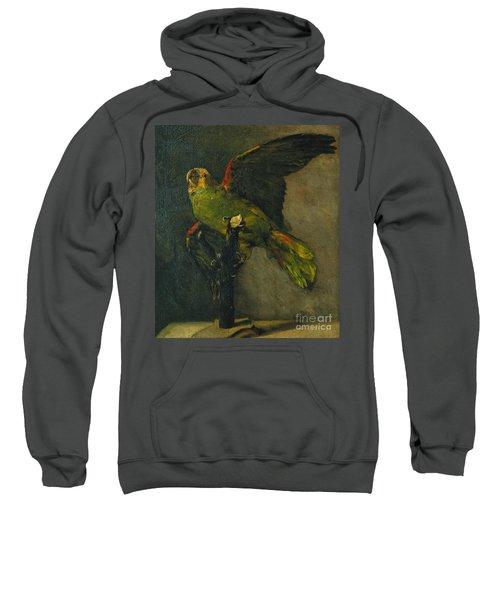 The Green Parrot Sweatshirt