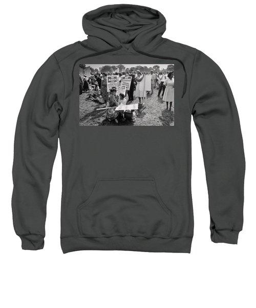 The March On Washington  At Washington Monument Grounds Sweatshirt