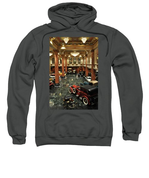 Grand Salon At The Nethercutt Sweatshirt