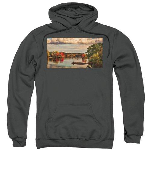 The Stillwater River In Maine Sweatshirt