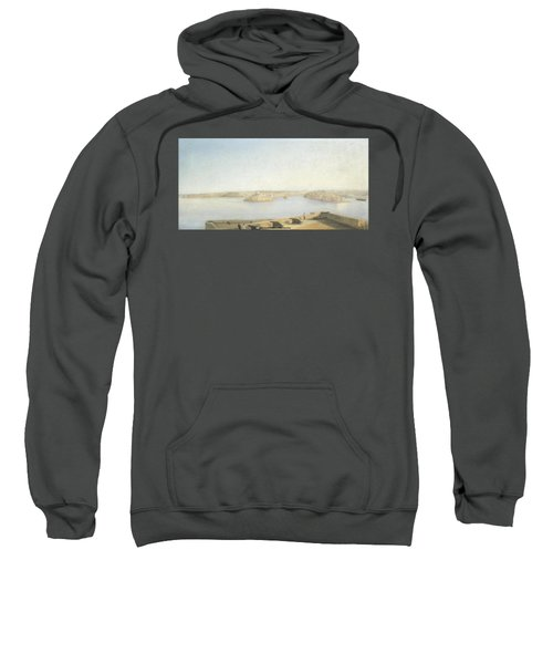 The Three Cities And The Grand Harbour Sweatshirt