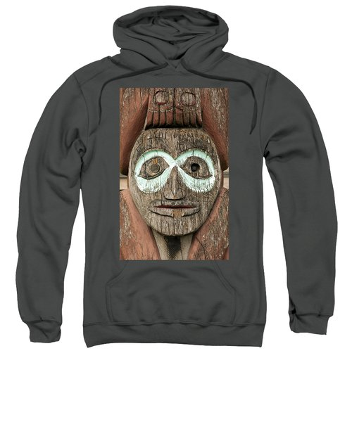 Totem Pole Detail Sweatshirt