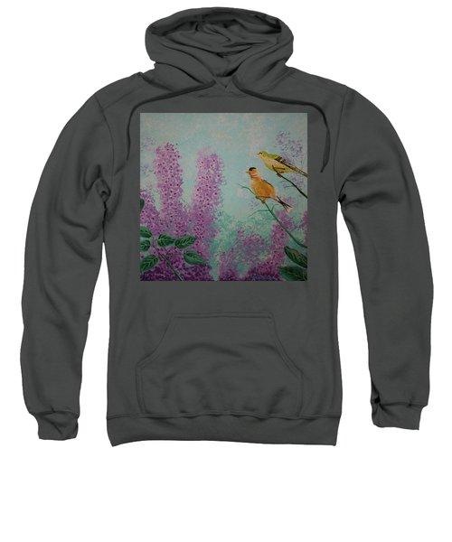 Two Chickadees Sweatshirt