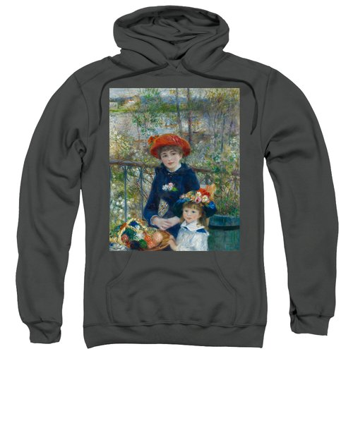 Two Sisters On The Terrace Sweatshirt