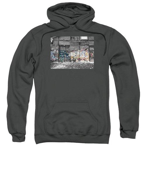 Warehouse In Lisbon Sweatshirt by Ehiji Etomi
