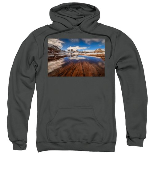 White Pocket Northern Arizona Sweatshirt