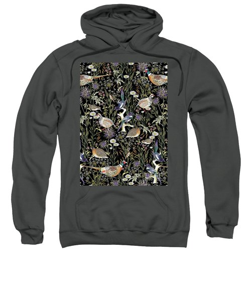 Woodland Edge Birds Sweatshirt