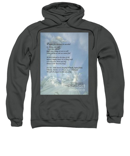 Writer, Artist, Phd. Sweatshirt by Dothlyn Morris Sterling