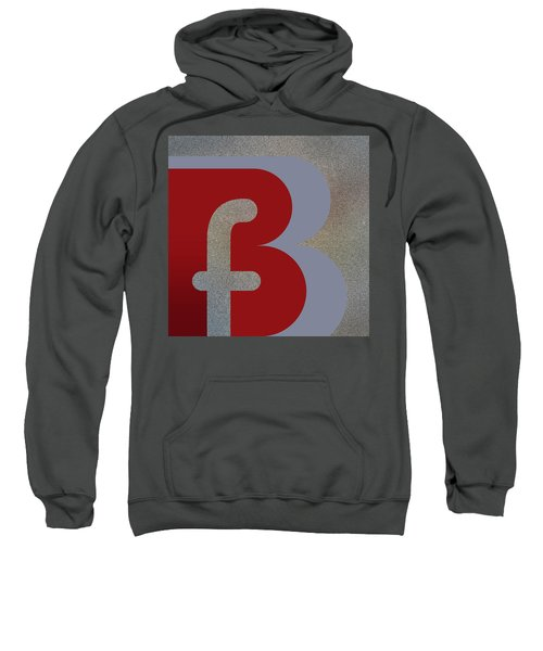 Your Name - B F Or F B Monogram Sweatshirt