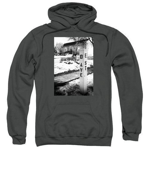 10 Ave And E St Belmar New Jersey Sweatshirt