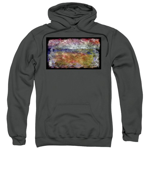 10c Abstract Expressionism Digital Painting Sweatshirt