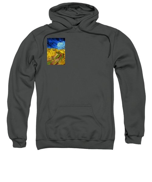 Wheatfield With Crows Sweatshirt