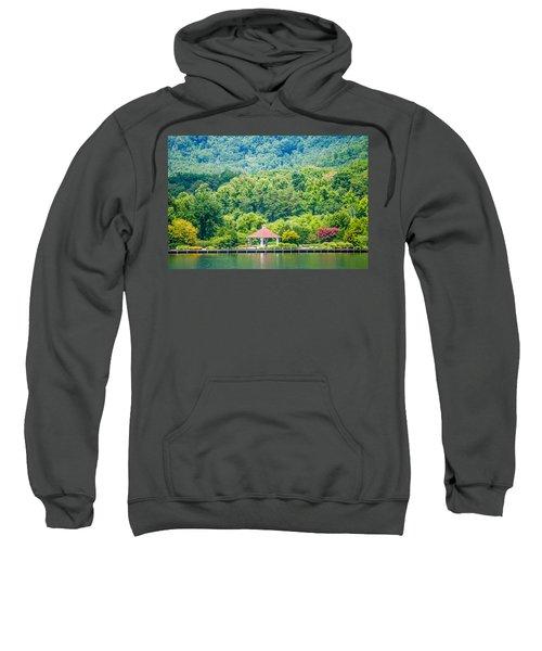 Scenery Around Lake Lure North Carolina Sweatshirt