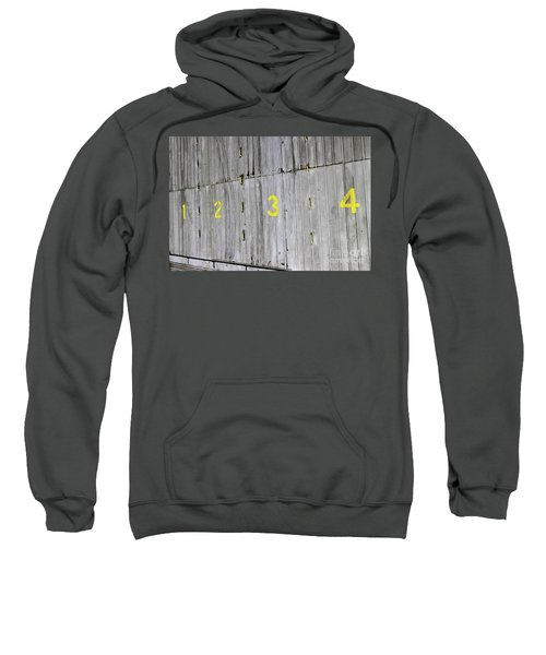 Sweatshirt featuring the photograph 1234 by Stephen Mitchell