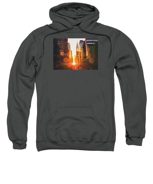 New York City Sweatshirt by Vivienne Gucwa
