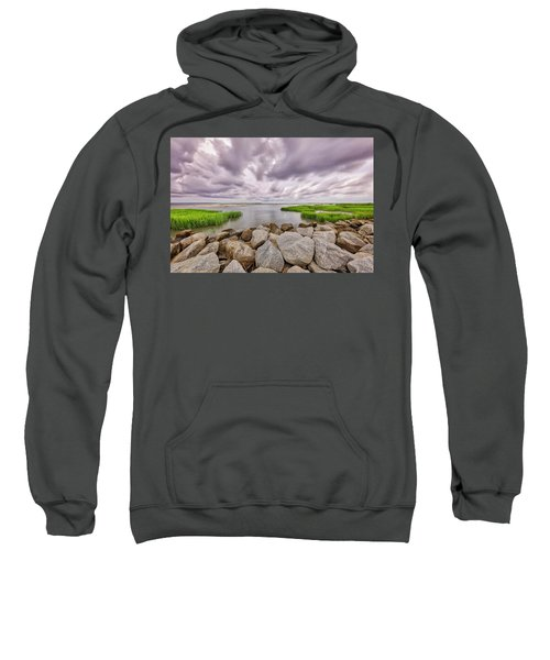 Seascape Of Hilton Head Island Sweatshirt