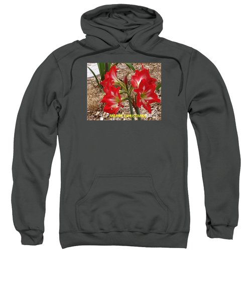 Sweatshirt featuring the photograph Christmas Card by Rod Ismay