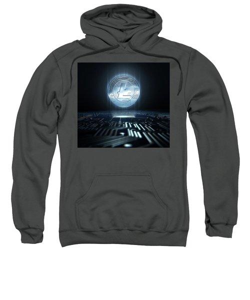 Cryptocurrency And Circuit Board Sweatshirt