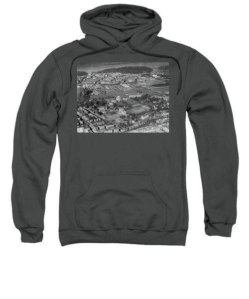 1930's Northern Manhattan Aerial  Sweatshirt by Cole Thompson