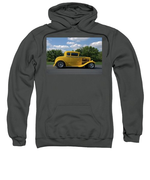 1931 Ford Coupe Hot Rod Sweatshirt