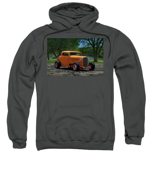 1932 Ford Coupe Hot Rod Sweatshirt