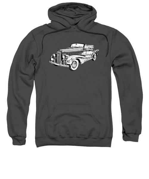 1938 Cadillac Lasalle Illustration Sweatshirt