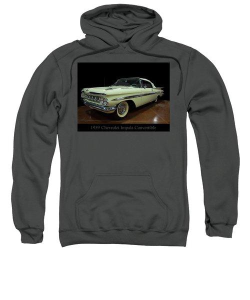 1959 Chevy Impala Convertible Sweatshirt