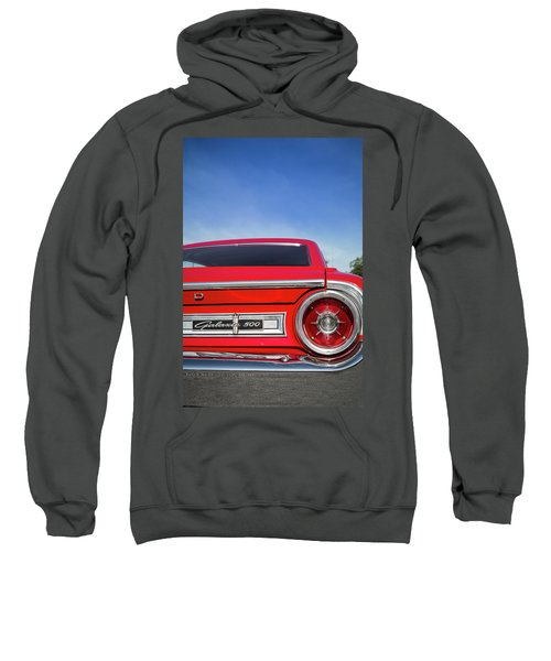 1964 Ford Galaxie 500 Taillight And Emblem Sweatshirt