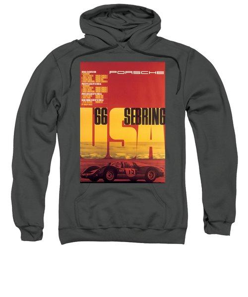 1966 Porsche 12 Hours Of Sebring Sweatshirt
