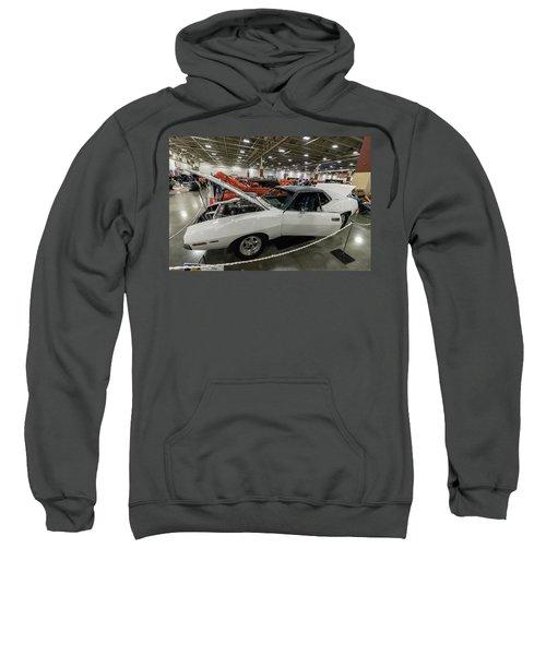 Sweatshirt featuring the photograph 1972 Javelin Sst by Randy Scherkenbach
