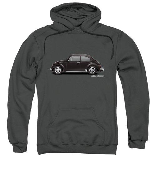 1972 Volkswagen 1300 - Custom Sweatshirt by Ed Jackson