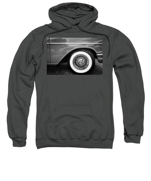 1957 Chevrolet Bel Air 283 Painted Bw  Sweatshirt